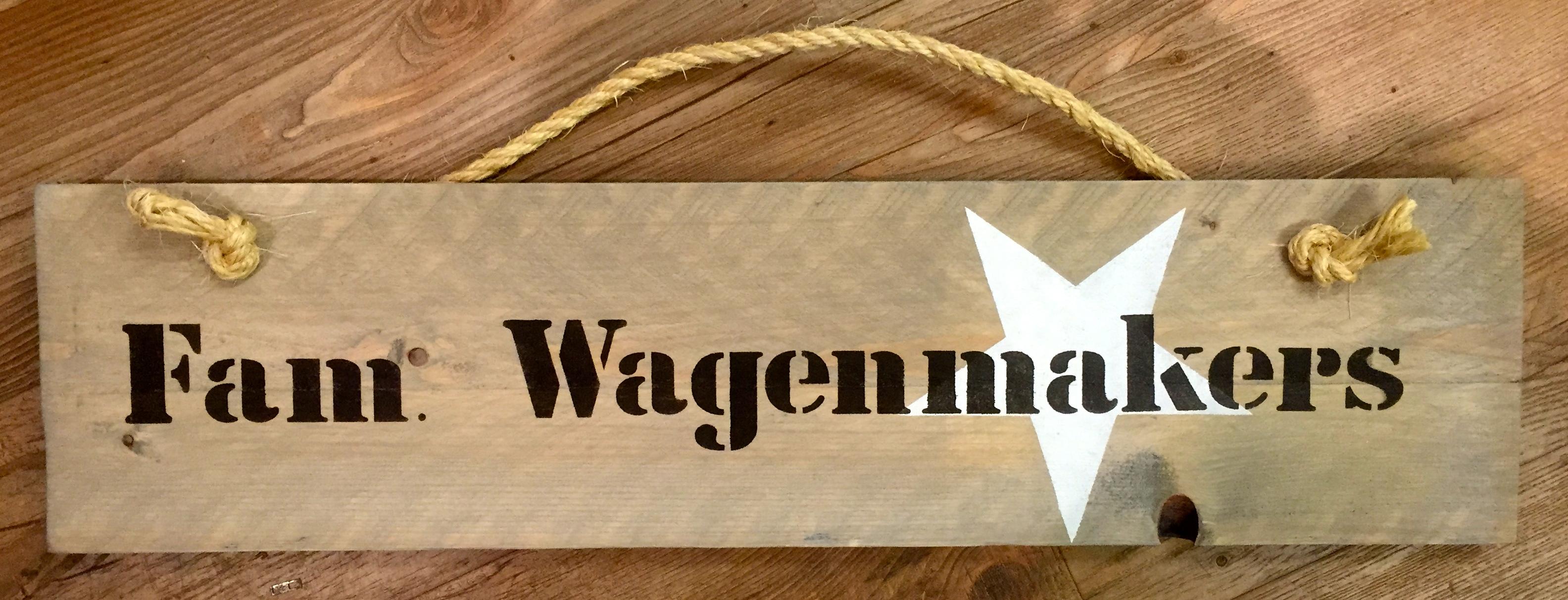 Fonkelnieuw NAAMBORDEN - Martwienkel, houten speuken, kinderkapstok, vintage TW-93